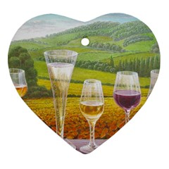 vine Heart Ornament (Two Sides)