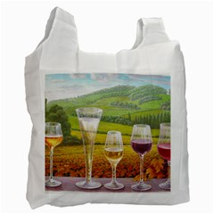 vine Twin-sided Reusable Shopping Bag