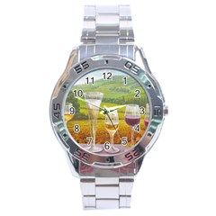 vine Stainless Steel Analogue Watch (Round)