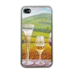 vine Apple iPhone 4 Case (Clear)