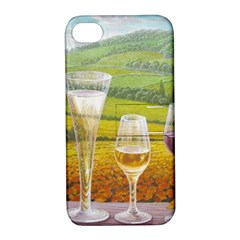 Vine Apple Iphone 4/4s Hardshell Case With Stand