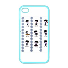 12 Girls Apple Iphone 4 Case (color)