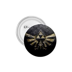 Triforce Emboss Small Button (Round)