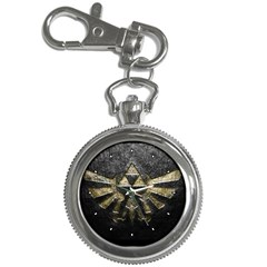 Triforce Emboss Key Chain & Watch
