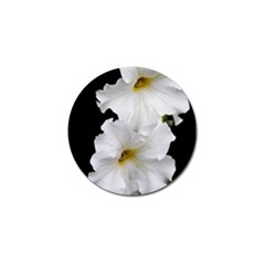 White Peonies   10 Pack Golf Ball Marker