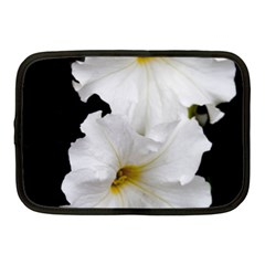 White Peonies   10  Netbook Case