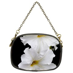 White Peonies   Twin-sided Evening Purse