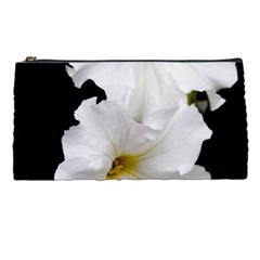 White Peonies   Pencil Case