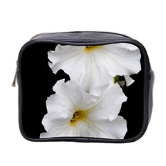 White Peonies   Twin-sided Cosmetic Case
