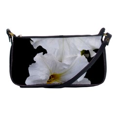 White Peonies   Evening Bag