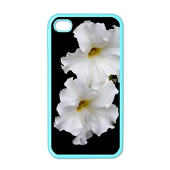 White Peonies   Apple Iphone 4 Case (color)