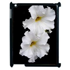 White Peonies   Apple Ipad 2 Case (black)
