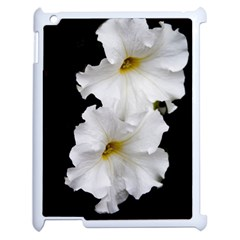 White Peonies   Apple Ipad 2 Case (white)
