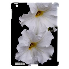 White Peonies   Apple iPad 3/4 Hardshell Case (Compatible with Smart Cover)