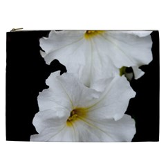 White Peonies   Cosmetic Bag (xxl)
