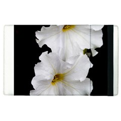 White Peonies   Apple iPad 3/4 Flip Case