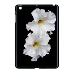 White Peonies   Apple iPad Mini Case (Black)