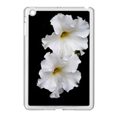 White Peonies   Apple iPad Mini Case (White)