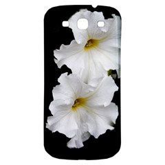 White Peonies   Samsung Galaxy S3 S III Classic Hardshell Back Case