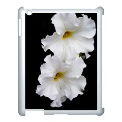 White Peonies   Apple iPad 3/4 Case (White)