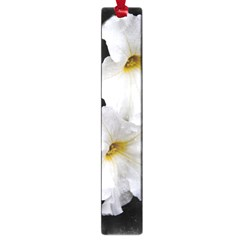 White Peonies   Large Book Mark