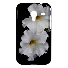 White Peonies   Samsung Galaxy Ace Plus S7500 Case