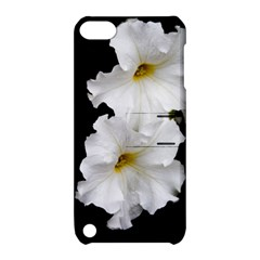 White Peonies   Apple iPod Touch 5 Hardshell Case with Stand