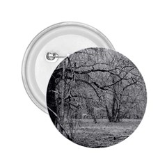 Black And White Forest Regular Button (round)