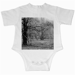 Black and White Forest Baby Creeper