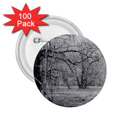 Black And White Forest 100 Pack Regular Button (round)