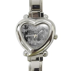 Black and White Forest Classic Elegant Ladies Watch (Heart)