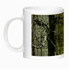 Black and White Forest Glow in the Dark Mug
