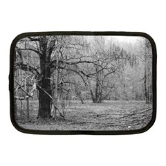 Black and White Forest 10  Netbook Case