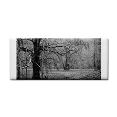 Black And White Forest Hand Towel