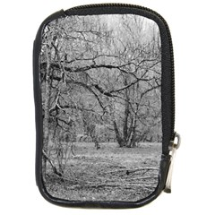 Black and White Forest Digital Camera Case