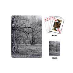 Black and White Forest Playing Cards (Mini)