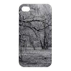 Black and White Forest Apple iPhone 4/4S Premium Hardshell Case