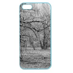 Black and White Forest Apple Seamless iPhone 5 Case (Color)
