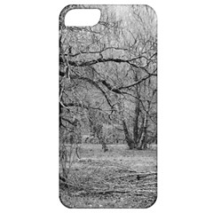 Black And White Forest Apple Iphone 5 Classic Hardshell Case