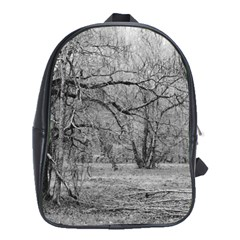 Black and White Forest School Bag (XL)