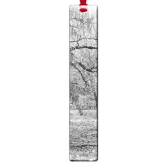 Black and White Forest Large Book Mark