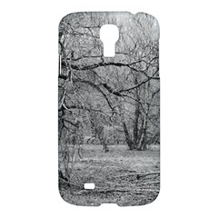 Black and White Forest Samsung Galaxy S4 Hardshell Case