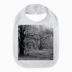 Black And White Forest Bib