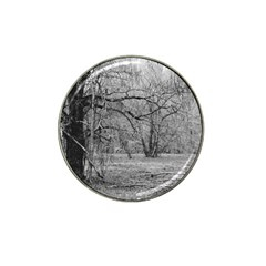 Black and White Forest Golf Ball Marker (for Hat Clip)