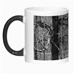 Black and White Forest Morph Mug