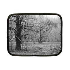 Black and White Forest 7  Netbook Case