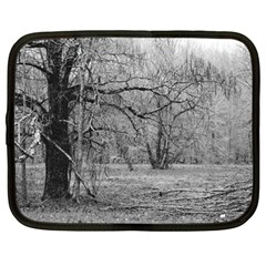 Black and White Forest 12  Netbook Case