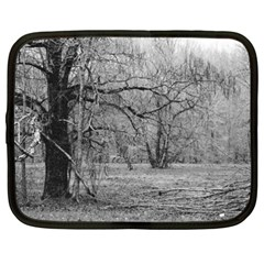 Black And White Forest 15  Netbook Case