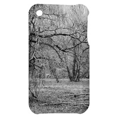 Black and White Forest Apple iPhone 3G/3GS Hardshell Case