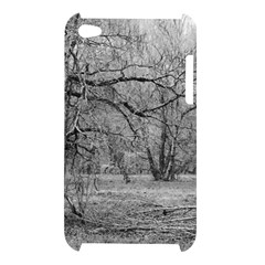 Black and White Forest Apple iPod Touch 4G Hardshell Case